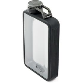 GSI Boulder Flask Bottle black/transparent
